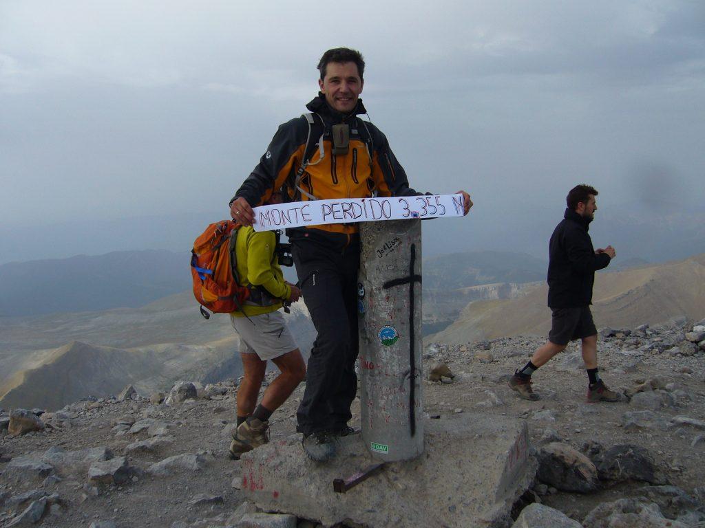 Ascensión Monte Perdido Javier Beamonte Lizar