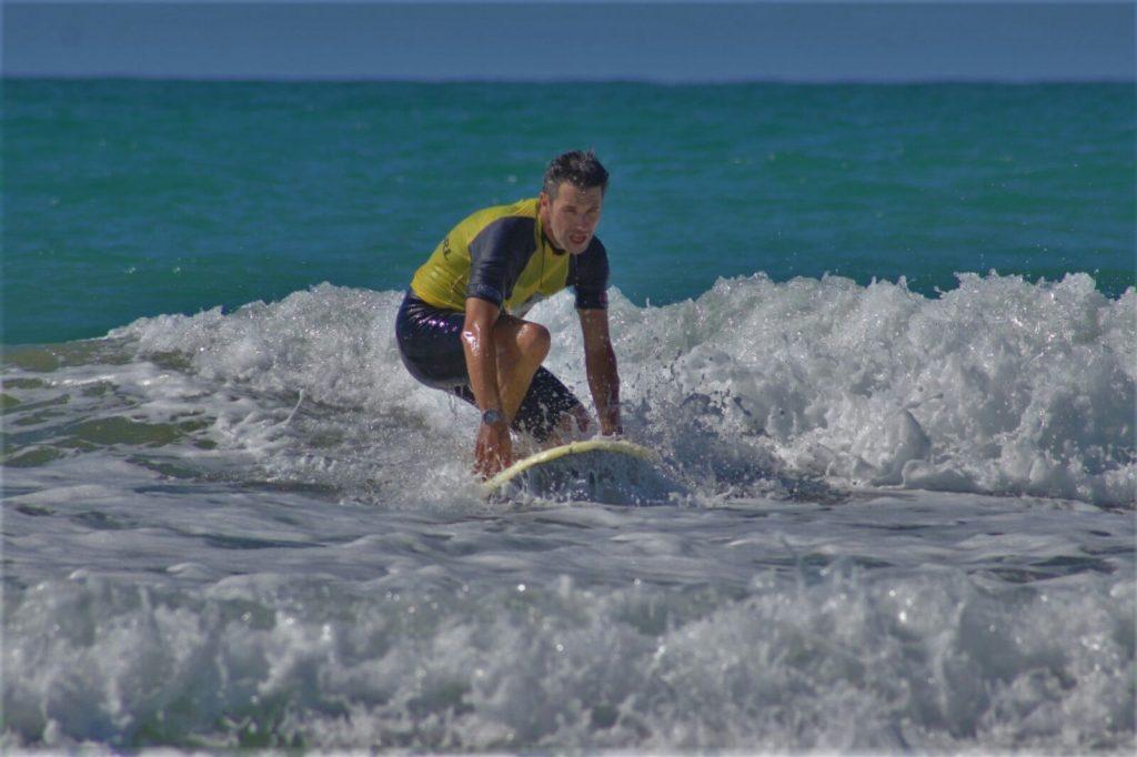 Iniciación Surf El Palmar Javier Beamonte Lizar