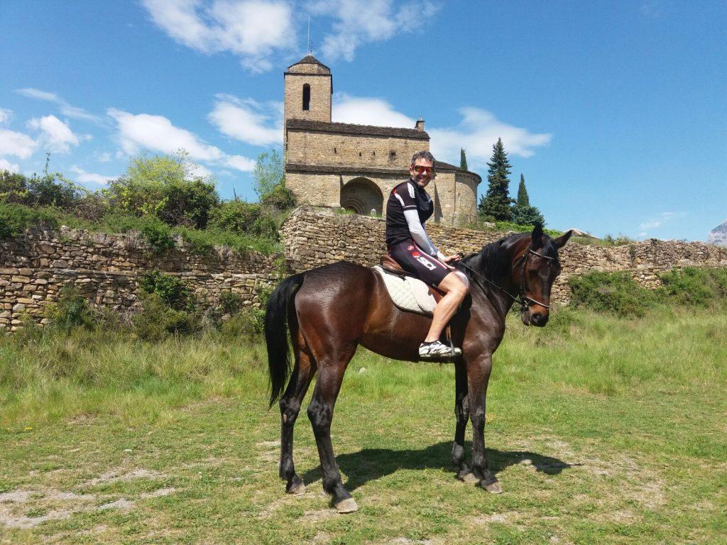 Ruta BTT y Equitación Boltaña Javier Beamonte Lizar
