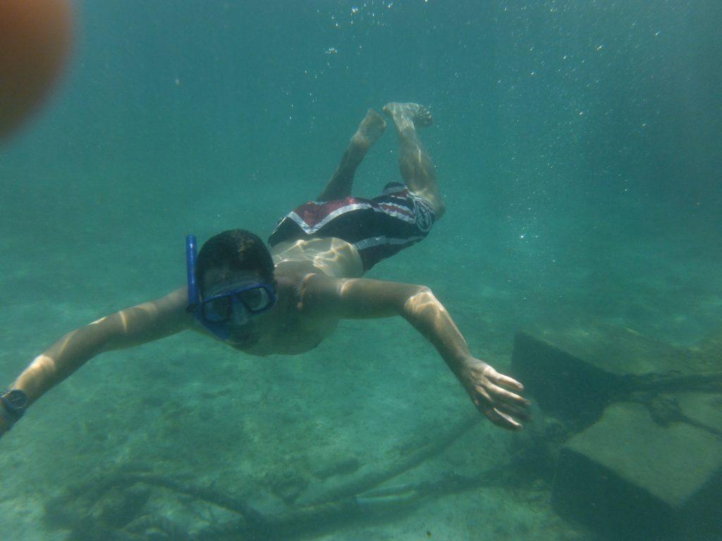 Snorkel en México Javier Beamonte Lizar